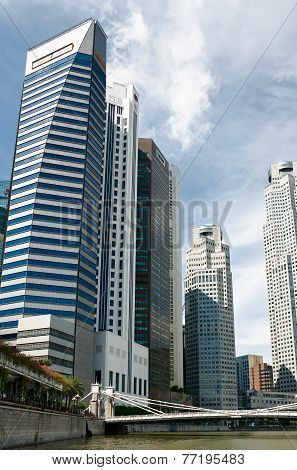High-rise Building In Singapore