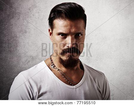 Portrait Of A Bearded Guy