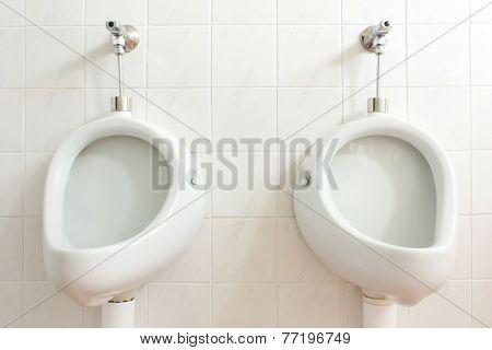 Public men toilet