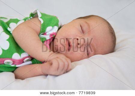 Recién nacido bebé para dormir