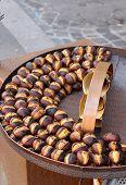 Grilled chestnuts resale