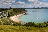 stock photo of pacific islands  - Landscape from Russell near Paihia Bay of Islands New Zealand - JPG
