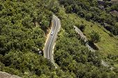picture of veer  - tight mountain road  - JPG