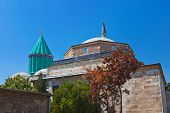 pic of mausoleum  - Mevlana Museum and Mausoleum  - JPG