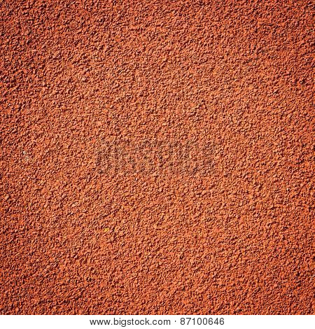 Texture Of Running Track For Athletics