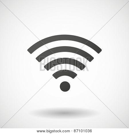 Grey Signal Icon