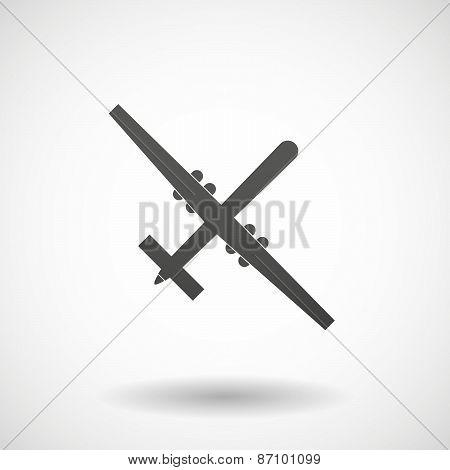 Grey War Drone
