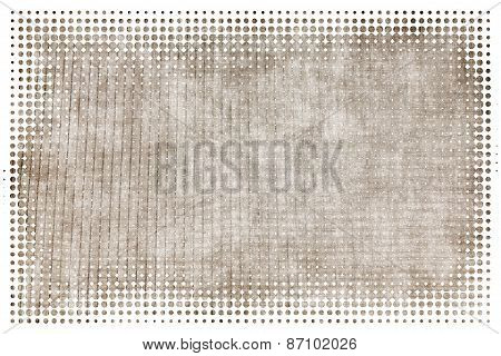 Monochrome Grunge Abstract Background With Film Effect Pattern.