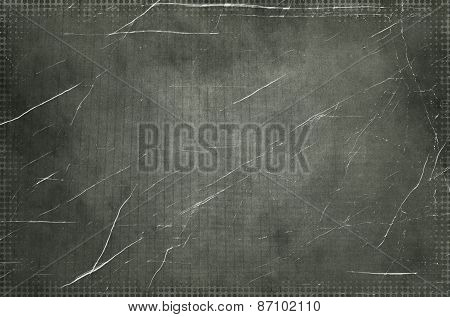 Monochrome Grunge Abstract Background.