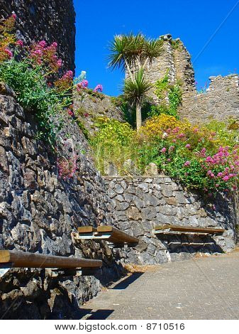 Bench Castle Pathway