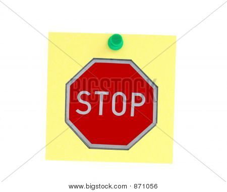 Stopping Postit