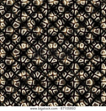 Coat Pattern Quilted Medium