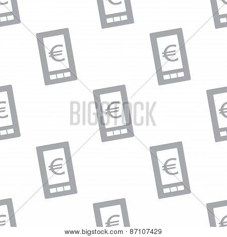 New Euro phone seamless pattern