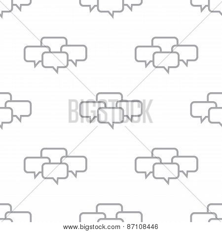 New Dialog seamless pattern