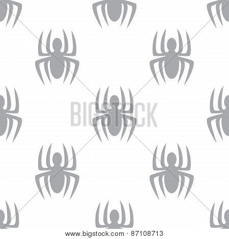 New Spider seamless pattern