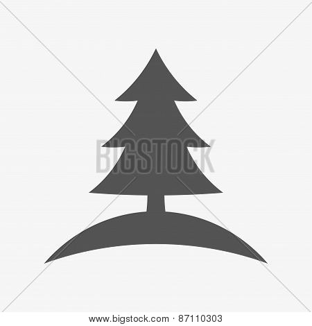 Spruce tree icon