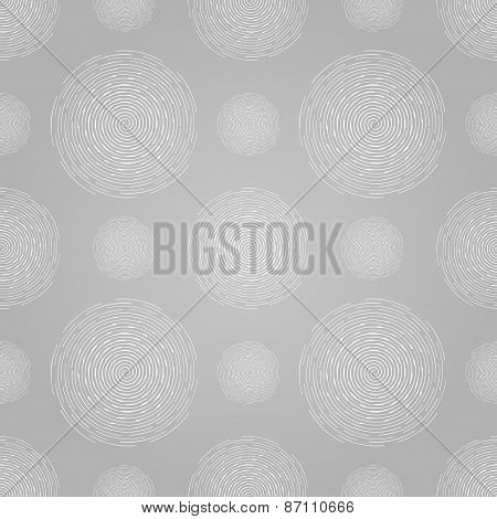 Abstract seamless spiral design pattern. Circular, rotating background, vector illustration