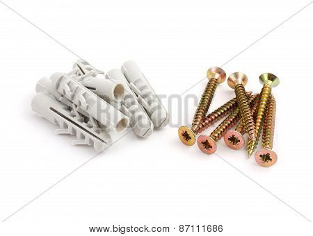 dowels and screws