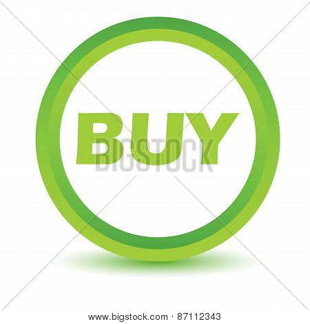 Green buy icon
