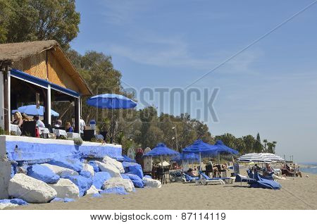 Picturesque Beach Restaurant