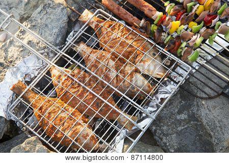 Grilliing Fish