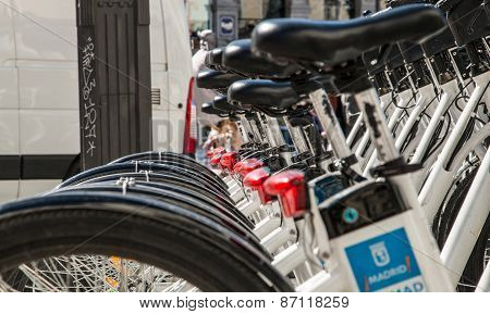Bikes for Rent in Madrid