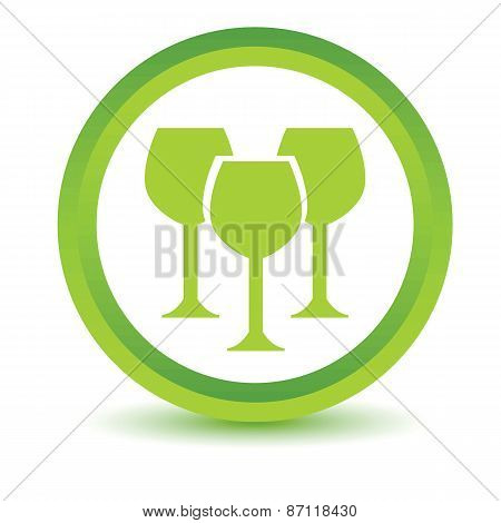 Green Stemware icon