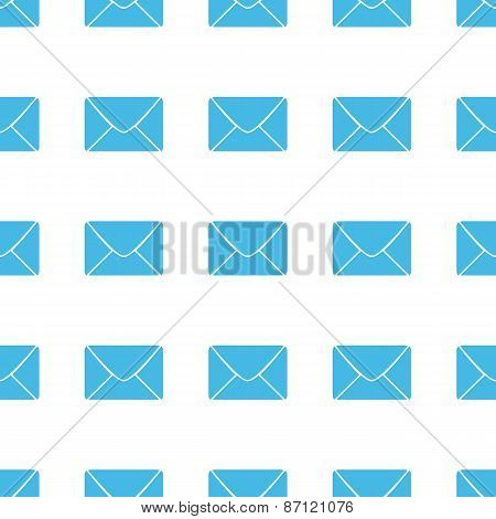 Unique Mail seamless pattern