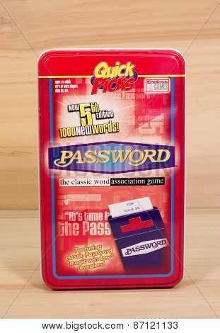 Password Game Tin