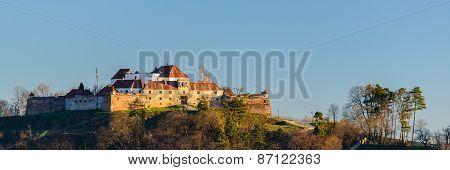 Brasov Fortress In Transylvania, Romania