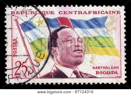 President Barthelemy Boganda