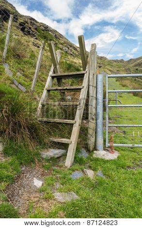Ladder Stile Style, North Wales