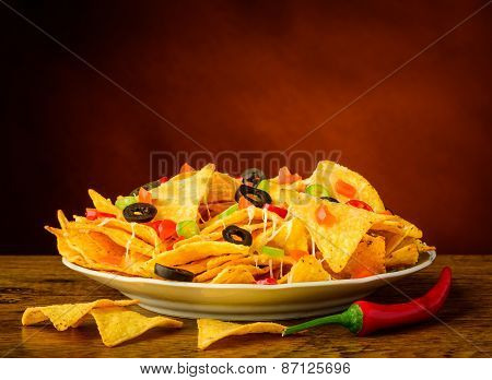 Still Life With Nachos