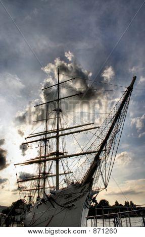 giant sailboat