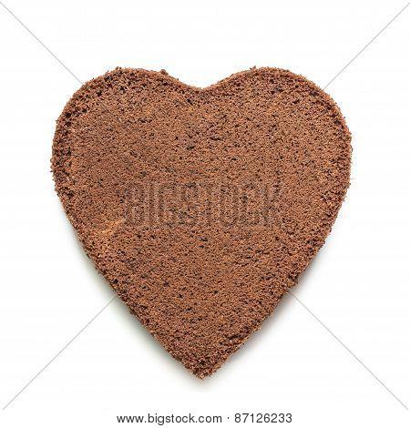 Heart Of Chocolat Cake