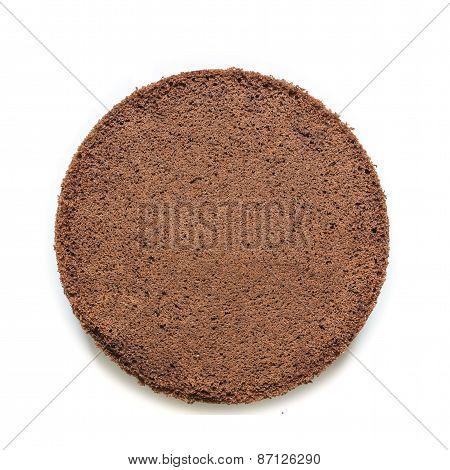 Round Of Chocolat Cake