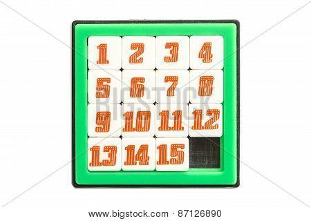 Number Slider Puzzle