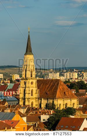 Saint Michael Cathedral In Cluj