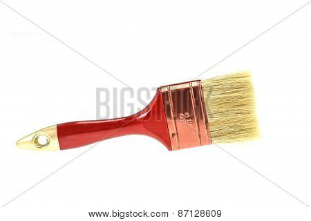 Paint Brush Isolated On A White