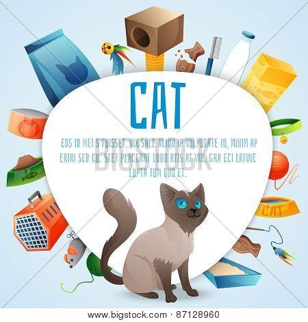 Cat stuff set