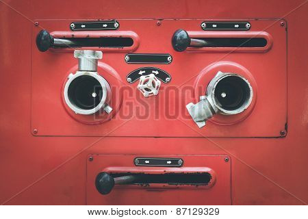 Fire Truck Hose Connectors
