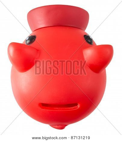 Red Piggy moneybank