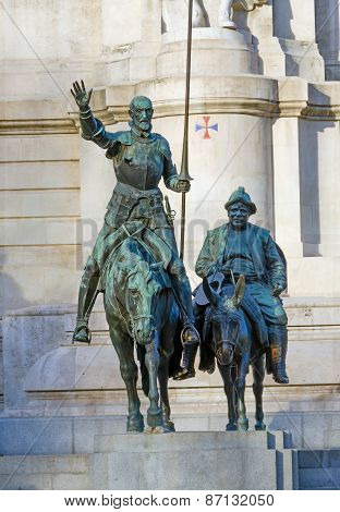 Don Quixote Bronze Statue