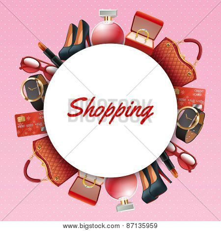 Shopping Accessories Frame