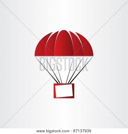 Parachute With Message Box