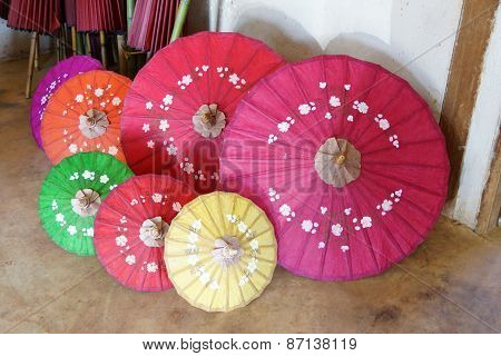 Hand Made Wooden Umbrellas