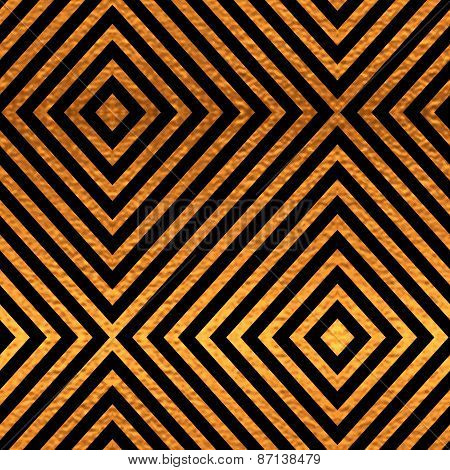 Black and gold seamless pattern