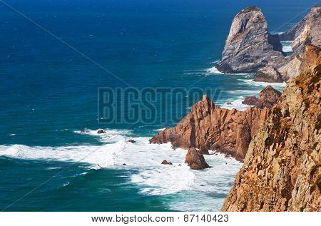 The Most Western Point Of Europe, Cabo Da Roca, Portugal