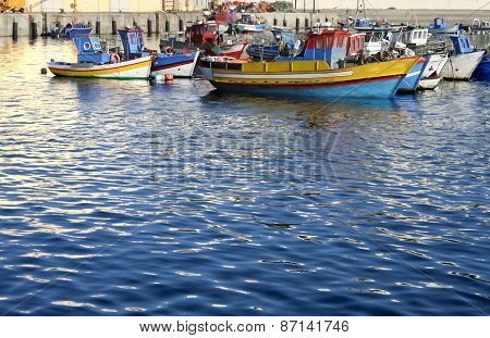 Fishing Port Of Sines