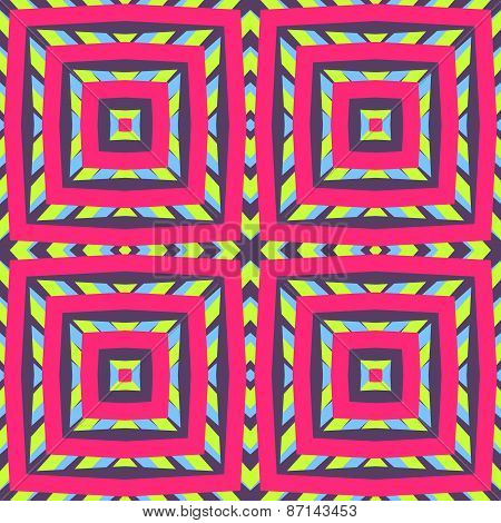 Vivid geometric pattern